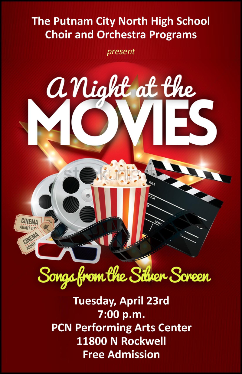 A Night at the Movies Poster
