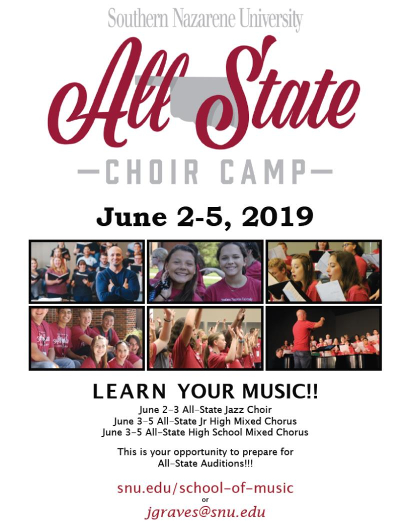 SNU All-State Choir Camp