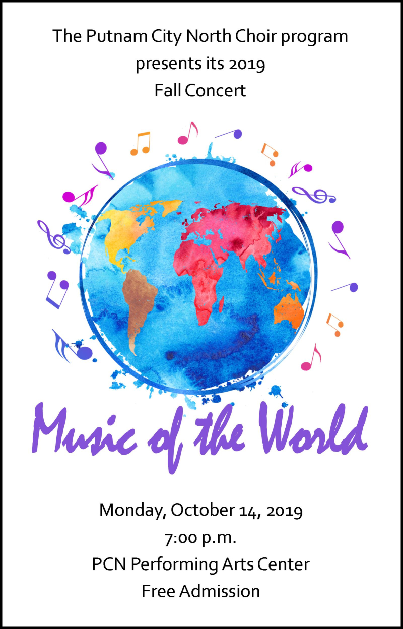 Fall Concert Poster 2019